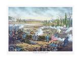 Battle of Stones River  Pub Kurz and Allison  1891