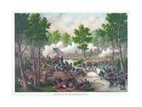 Battle of Spotsylvania  Pub Kurz and Allison  1888