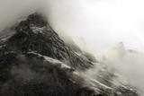 The Wetterhorn (3692M) over Grindelwald Village  Switzerland