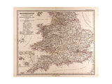 Map of Great Britain  1872