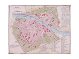 Map of the Town of Florence  1812