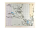 Map of Australia  1876