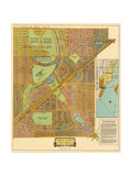 Map of South Coral Gables  1926
