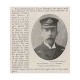 Rear-Admiral J L Hammet  Umpire at Naval Manoeuvres