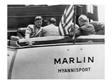 John Kennedy sailing