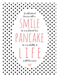 Smile Pancake Life Giclée par Cheryl Overton