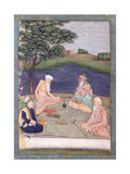 Sufis Visiting their Pir  C1650
