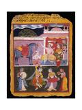 An Illustration to Rasikapriya of Keshav Das  Early 17th Century