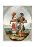 An Exotic Couple  Early 19th Century