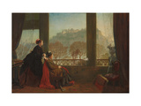 Portrait of the Baroness Burdett Coutts and Her Companion Mrs Brown  Edinburgh  1874