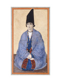Portrait of a Young Qajar Prince  C1850