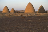Graves (Qubba) of Holy Men  Old Dongola  Egypt