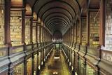 Library (18th Century) of Trinity College  Dublin  Ireland