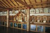 Buddha in Vihara Maha Devi Temple  Colombo  Sri Lanka