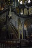 Turkey  Istanbul  Hagia Sophia  Minbar  Pulpit