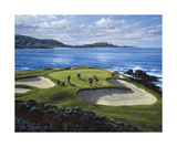 7th Hole Pebble Beach  California