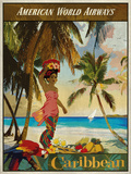 Vintage Travel Caribbean