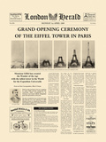 The Grand Opening Ceremony of the Eiffel Tower