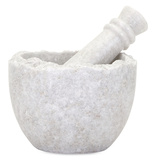 Marble Mortar & Pestle *