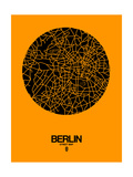 Berlin Street Map Yellow