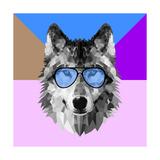 Woolf in Blue Glasses