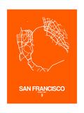 San Francisco Street Map Orange