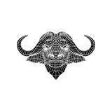 Black and White Buffalo Mesh