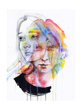 Girls Change Colors Reproduction d'art par Agnes Cecile