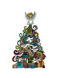 Angel Tree Giclée premium par Sharon Turner