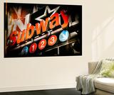 Subway and City Art - Subway Sign