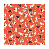 Beagle Scatter (Variant 2)