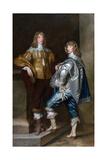 Lord John Stuart and His Brother  Lord Bernard Stuart (C1623-45) C1638