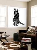 Smart Black Cat Polygon