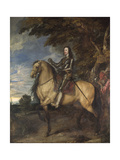 Equestrian Portrait of Charles I (1600-49) C1637-38