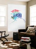 Alaska Watercolor Word Cloud