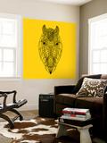 Horse Head Yellow Mesh