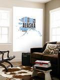 Alaska Word Cloud Map