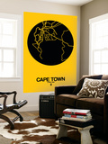 Cape Town Street Map Yellow