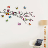 Magnolia and 3D Butterflies