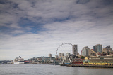 The Seattle Skyline on a Sunny Day