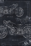 Motorcycle Co Blueprint Black II