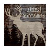 Deer Crossing Reproduction d'art par Piper Ballantyne