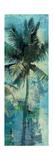 Teal Palm Triptych II