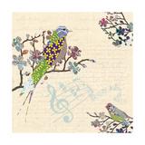 Patch Work Birds I