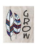 Feather Print Grow