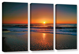 Morning Has Broken Ii  3 Piece Gallery-Wrapped Canvas Set