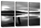 Still Waters  3 Piece Gallery-Wrapped Canvas Set