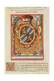 Coat of Arms  from 'Americae Tertia Pars'  1592