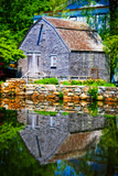 Old Grist mill Portrait