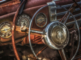 Old Buick Eight Dashboard